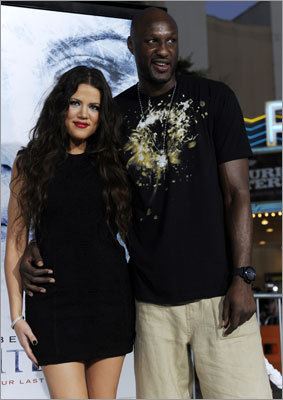 Lamar Odom has become a reality TV star And you thought the Skittles addiction was a distraction. A cable show tentatively titled 'Lamar and Khloe' will look into the life of Odom and his wife Khloe Kardashian. Odom is famous for being a basketball player, while Kardashian is famous for having an inexplicably famous sister.