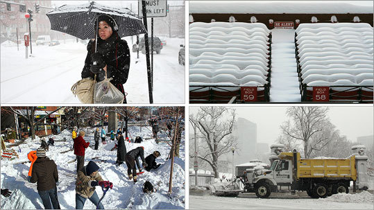 The winter of 2010-2011 has been marked by significant snowfall, including two blizzards. By Jan. 31, the state had received 60.3 inches of snow. Read on for a look at the storms that have hit the state so far this year.