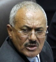 'I won't seek to extend my presidency for another term or have my son inherit it,' Ali Abdullah Saleh told Parliament.