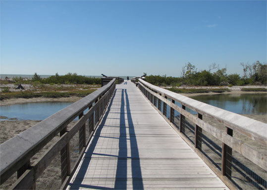 Lovers Key State Park is composed of four barrier islands and offers over two miles of beaches, and eight miles of trails for hiking and biking.