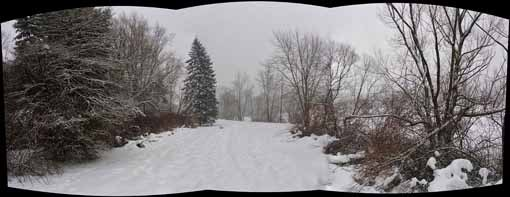 Frank Schroth is keeping a photoblog of Milton. He posted this panorama on January 23. Check out more entries here .