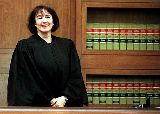 US District Court Judge Nancy Gertner.