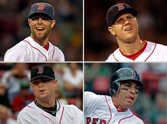 Oh, you'll disagree. How can you not? Ranking the players on the 2011 Red Sox' roster from 25 to 1 (based primarily on importance to the team's success) is a fun exercise to be sure, but also a challenging one. Where do you put Clay Buchholz at this point? Will Andrew Miller be a factor going forward? What about Josh Reddick? And at the front of the spectrum, how do you choose No. 1 from Adrian Gonzalez, Jacoby Ellsbury, Dustin Pedroia, Jon Lester or . . . well, it's a nice problem to have. Here are our updated rankings, revised from Opening Day. As always, share yours at the end of the gallery.