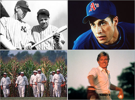 "With the debut of ""Ballplayer: Pelotero,"" a documentary about baseball in the Dominican Republic that Red Sox manager Bobby Valentine produced, it's a good time to catch up on baseball's other silver-screen hits from past decades. Read on for a look at some classic baseball movies, and tell us what you think at the end."