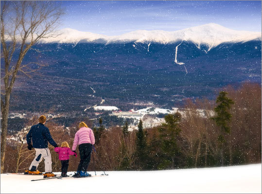 Starr King, Bretton Woods, Bretton Woods, N.H. From one side of Mt. Washington to the other, to each their own which view he or she prefers. But to get a true sense of the majestic view of the mountain and the hotel named after it, there are few better ways than a sauntering run down the intermediate Starr King on the typically more gnarly West Mountain. Where are your favorite cruisers?