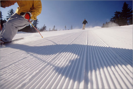 Whether it's the freshly groomed cord, the stunning views of the surrounding vistas and valleys, or the ability to soar at high speeds that attracts skiers and riders, cruisers will always be the most popular terrain at ski areas in New England. Here are 10 great ones every meandering skier or rider should be sure to check out. Where are your favorite cruisers?