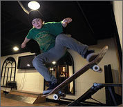 See the Underwood's indoor skate park
