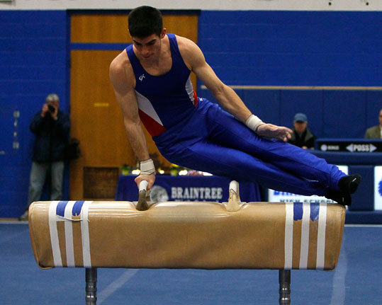 Junior Tim Lebbossiere placed in all six events to help Braintree win its third straight state title and 19th overall.