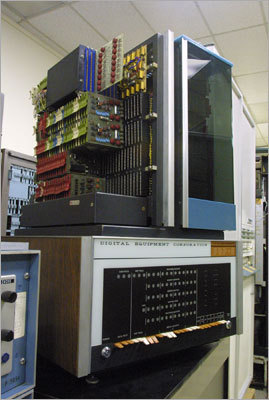 Digital released the PDP-8 minicomputer in 1965. Priced at less than $20,000, it became a major hit.