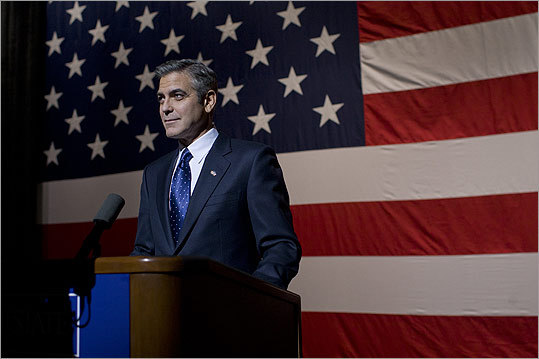 George Clooney for president? Before the silver fox took the role of presidential nominee Mike Morris in ' The Ides of March ,' we asked our readers what fictitious Hollywood president would be fit for the Oval Office. Click through and check out the top 10 fictitious presidents on the silver screen.