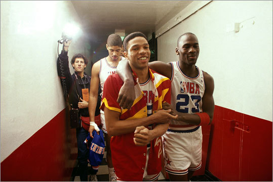 All-Star appearance Rivers' only NBA All-Star Game appearance as a player was in 1988, and after he helped the Eastern Conference win, he celebrated with Michael Jordan as they left the court. Rivers scored nine points and had six assists.