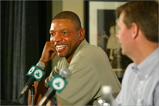 A new beginning After he was fired by the Magic, Rivers returned to broadcasting before being introduced as the Celtics' new coach on April 29, 2004. The team had just concluded a 36-46 season under coaches Jim O'Brien, who resigned in February, and interim coach John Carroll.