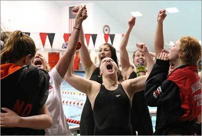 Marblehead swimmers rule the pool