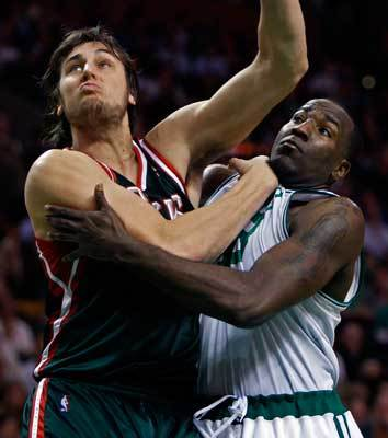 10. Milwaukee Bucks Record: 22-36 Record against Boston: 0-1 They were considered a dangerous sleeper at the start of the season, but the Bucks have been a disappointment. Potential superstar Brandon Jennings has been hurt. Corey Maggette hasn't played up to his three-year, $30 million contract. But the Bucks are only four games out of the No. 8 seed, and the playoffs remain a possibility despite the injuries.