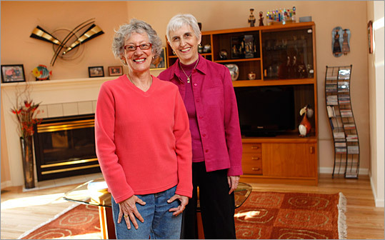 After some initial reticence to spend, retirees Joyce Richmond (left) and Andrea Shirley have been traveling and renovating their condo.