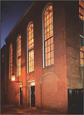 The African Meeting House is considered the oldest surviving black church building in the United States. Built in 1806, the church was the hub of religious, social, political and educational activity in Boston's black community. The National Park Service notes that William Lloyd Garrison founded the New England Anti-Slavery Society here in 1832, Frederick Douglass delivered an anti-slavery speech here in 1860, and it was a recruitment station for the all-black 54th Regiment during the Civil War. At the end of the century, a Jewish congregation bought the building and used it as a synagogue. In 1972, the Museum of African American History bought the building. It was recently renovated $9.5 million renovation.