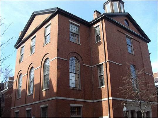 Built in 1824, the Phillips School would originally admit only white male students. In 1855, the Massachusetts Legislature abolished segregated schools, and the Phillips School became one of Boston's first integrated schools. In 1861, the school moved to the corner of Anderson Street and Phillips Street.