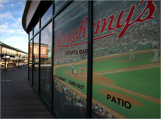 Jerry Remy's is a sports bar that is set to open on the Liberty Wharf at the end of April, around the time when everything else is expected to be open. Jerry Remy, Red Sox TV color commentator and former Sox player, opened his first location on Boylston last year.
