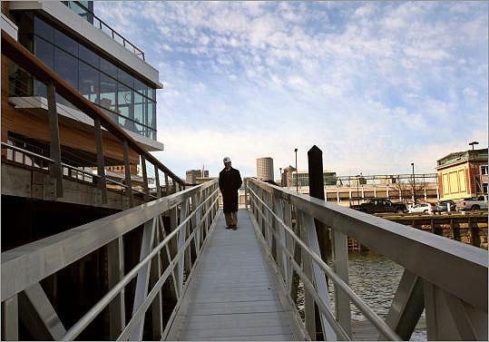 Just a few years ago, the area now known as Liberty Wharf housed one restaurant, Jimmy's Harborside. Now, the mixed-use development has five restaurants and offices, ranging from Legal Seafoods to Jerry Remy's. The very successful three-building complex is now up for sale, and is expected to get more than $60 million .