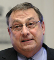 LIGHTNING ROD FOR CRITICS Maine Governor Paul LePage has made controversial proposals to reduce the state's $4.3 billion budget shortfall.