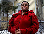 Marie Cacoa and a group of loyal activists challenged the foreclosure of her home