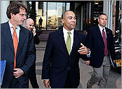 Governor Patrick in Israel