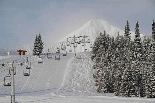 Do yourself a big favor and plan a ski trip to Big Sky and Moonlight, and a stop at Bridger Bowl (more on that Montana gem later). The scenery, the snow, the acres of terrain, the grand western lodging, and the friendly Montanans really make it worth the western ho. This season, Big Sky is staying open through April 24, all the more reason to giddy up and go.