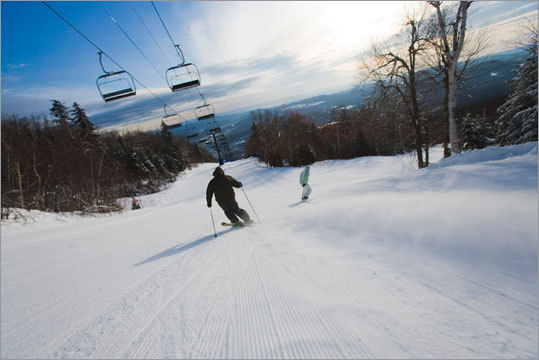 Meanwhile, at Okemo Mountain Resort , skiers and riders will celebrate St. Patrick's Day with a shamrock scavenger hunt and a 'Luck o' the Irish Tweet-up,' where those who are plugged to social media sites will have an easier time tracking down a leprechaun who will be Tweeting his location throughout the day on March 17. Those who find him will win a variety of prizes.