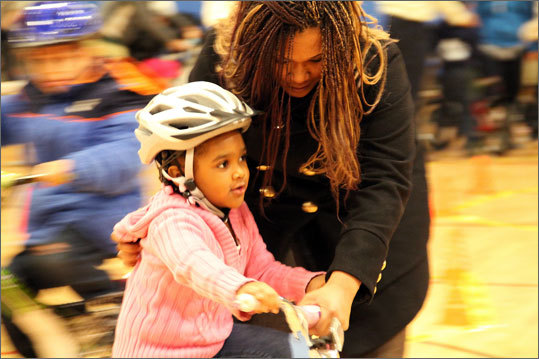 A city bike donation program has given 60 bicycles and helmets to a group of Roxbury youngsters. Read full story