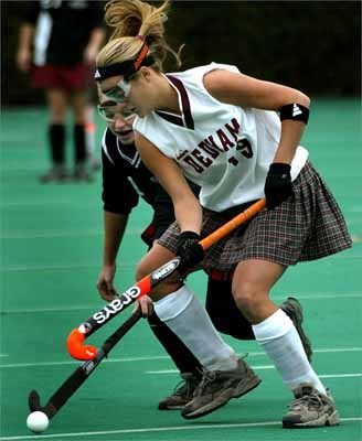 Two -sport athlete Jillian Wilkes was named the the 2006 Girl's All-Scholastics field and ice hockey teams.