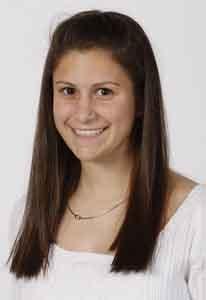 Junior midfielder Nicole Savi represented the Dedham girls soccer team on the 2008 All-Scholastics team.