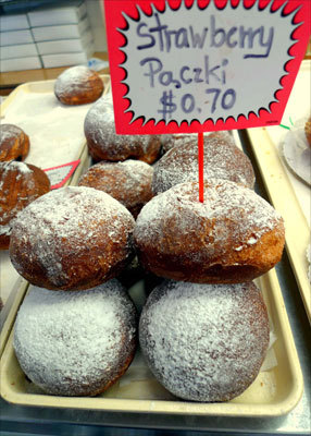 Yeast-raised paczki are Polish cousins to the American jelly doughnut. Read: Renewed business district tightens a community's ties