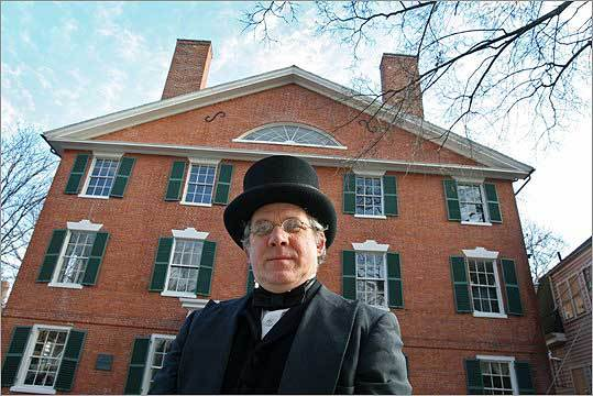 Many people recognize Salem as a historical town known as Witch City, but some may not realize it played an integral role in black history from the 17th century on. Hamilton Hall Storyteller Merrill Kohlhofer presents a show entitled 'Voices of Freedom: memories of anti-slavery days.' For the presentation, he dresses in period clothing.