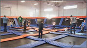Trampoline park says have fun, keep it safe