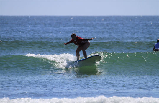 """Go out, have fun, and just be, eh?'' said Shauna Murch, an instructor from Vancouver Island, British Columbia. Read: Surfer girls"