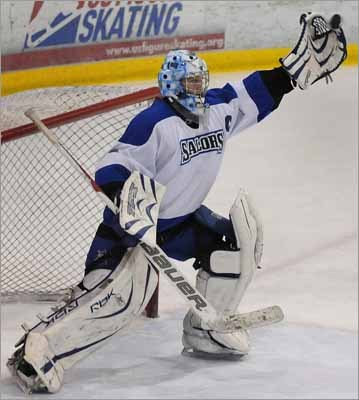In preparation for another round of Globe All-Scholastics to be named this spring, we decided to look back at Scituate's winners from the last decade. Jamie Muray (left) was named to the 2010 Boys' All-Scholastic hockey team as a goalie for Scituate High in his senior season.