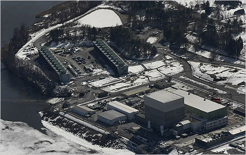 Vermont Yankee, pictured here, was designed to withstand floodwaters of more than 30 feet, an 80 mile per hour hurricane and a 300 mile per hour tornado, and a more than 6.0-magnitude earthquake.
