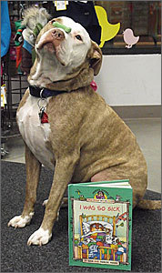 Green dogs and hambones