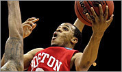 Boston University's D.J. Irving