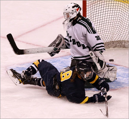 Fontbonne's Taylor Shepherd (8) scored to tie the game at 1-1 during the third period.