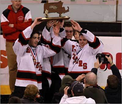 A final look at Marblehead's hockey title