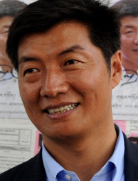 Harvard Law's Lobsang Sangay is running for prime minister.