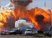 UN air strikes aid rebels