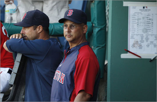 The 2011 Red Sox look good. Manager Terry Francona has depth in the starting pitching rotation, solid defense, and an offense capable of scoring 900 runs, and the expectation is clear: World Series or bust. Hurdles exist, as many players are returning from injury-riddled seasons, and others are getting on in years. Click through the gallery for portrait photos and information capsules by Globe reporter Peter Abraham on each player projected for the opening day roster.