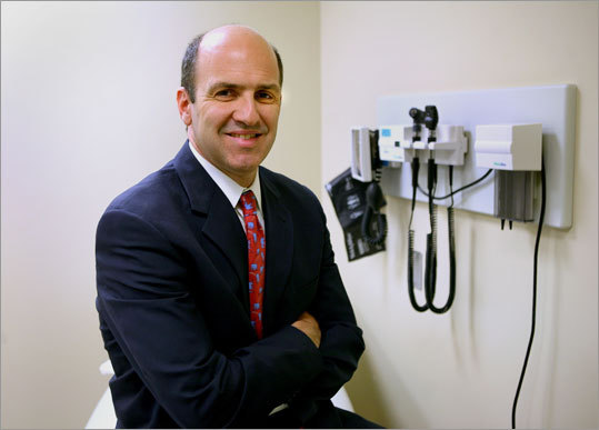 Dr. Thomas J. Gill in his Massachusetts General Hospital offices in 2009.