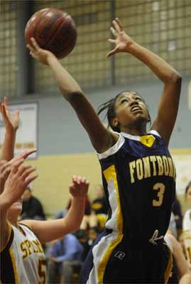 Senior guard for Fontbonne Academy Alexis Peters was named to the 2010 All-Scholastic girls' basketball team.
