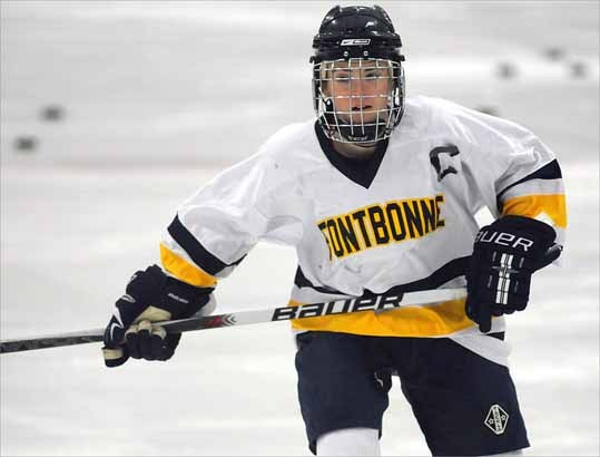 Fontbonne Academy senior Taylor Shepherd is a back-to-back-to-back All-Scholastic as she was named to the 2011 All-Scholastic girls' ice hockey team, after having been named to the Super Team in 2010 as a junior and the 2009 All-Scholastic team as a sophomore.