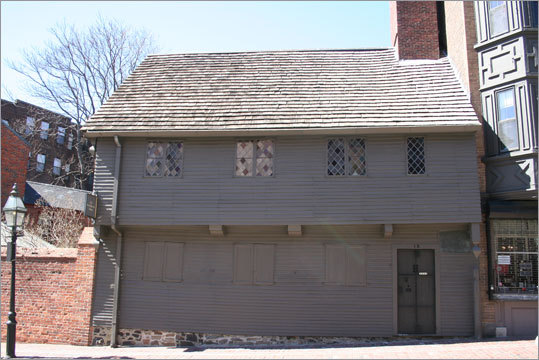 Correct answer: Paul Revere's House.