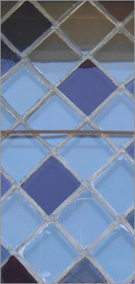 Where would you find this stained glass? online survey