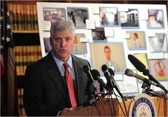 Suffolk County District Attorney Daniel F. Conley held a press conference, releasing most of the evidence and documents in the case.